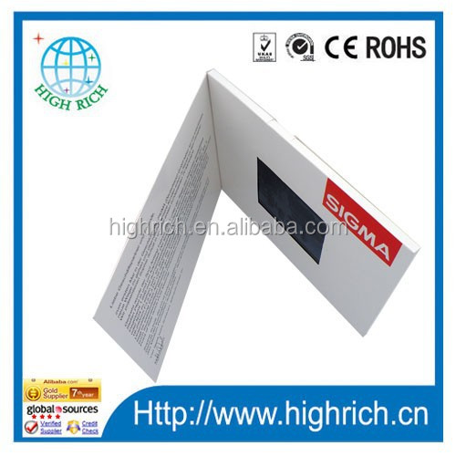 Advertising Business Card With Lcd