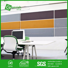 Eco-friendly embossed acoustic panel in sound block