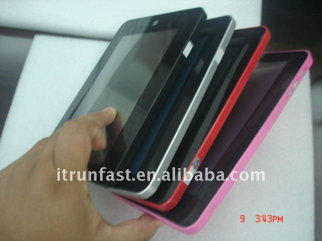 7 inch Android 2.2 WiFi Camera MID Tablet PC 3G(6 color optional )