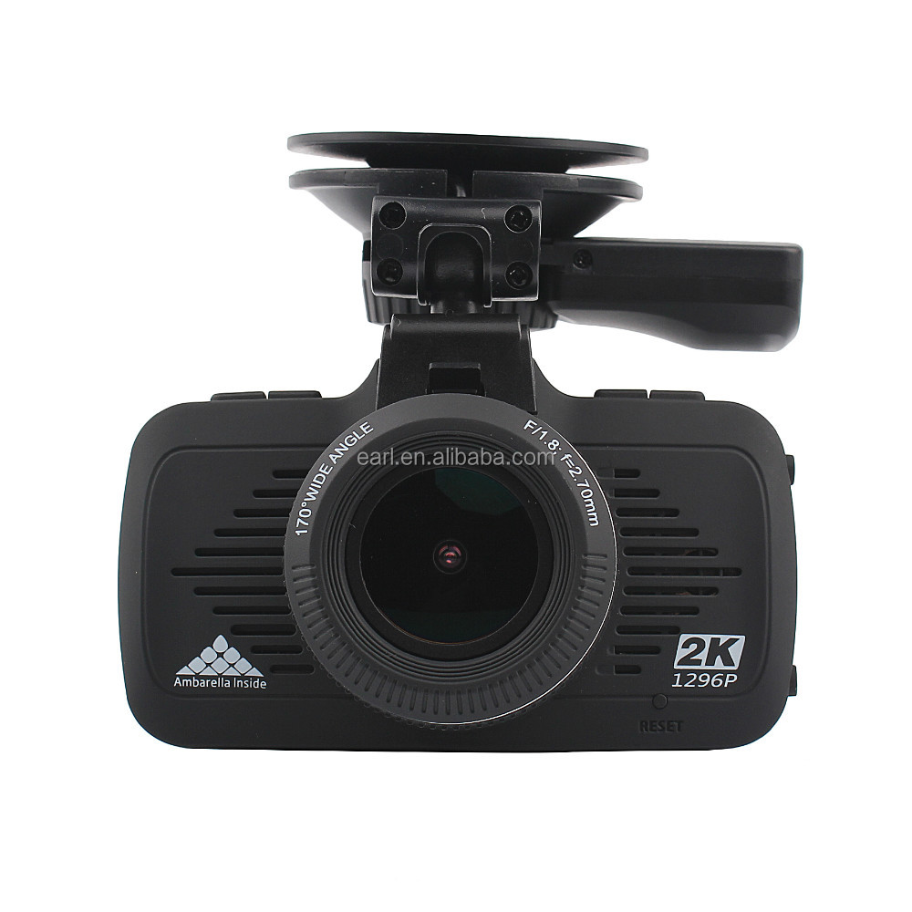 FHD 1296P camcorder built in Ambarella solution in-car camera front view in very good night vision