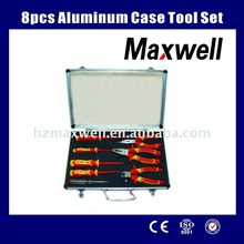 8pcs Aluminum Case Tool Set