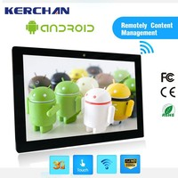 15.6 Inch Wall Mounted Android Tablet, touch screen lcd monitor picture