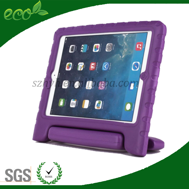new arrival shockproof silicone handle rubber cover EVA tablet pc case for ipad 2 ipad 3 ipad 4