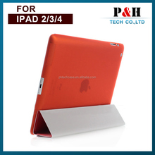 for ipad 2 3 4 new products on china market for PU Material Leather Case for iPad