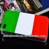 Italy flag phone cover for iphone 4/samsung