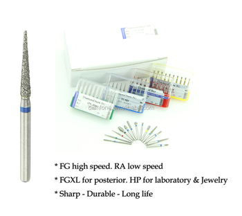 high speed good quality dental dimaond bur