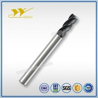 4 Flute Corner Radius with Long Shank Length milling tools for Steel or Cast Iron Milling