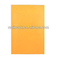 Kraft Bubble Mailers with Yellow Color #1 Size