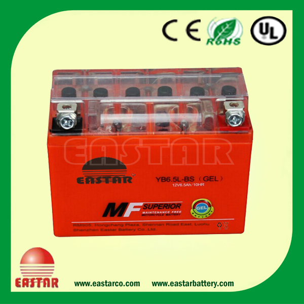 2015 China best price 12v 3ah motorcycle battery with excellent starting performance