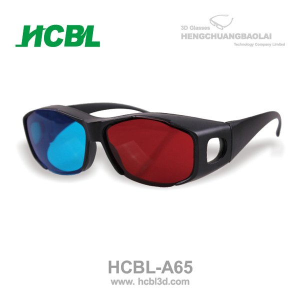 good price reusbale red-cyan 3d glasses for myopia