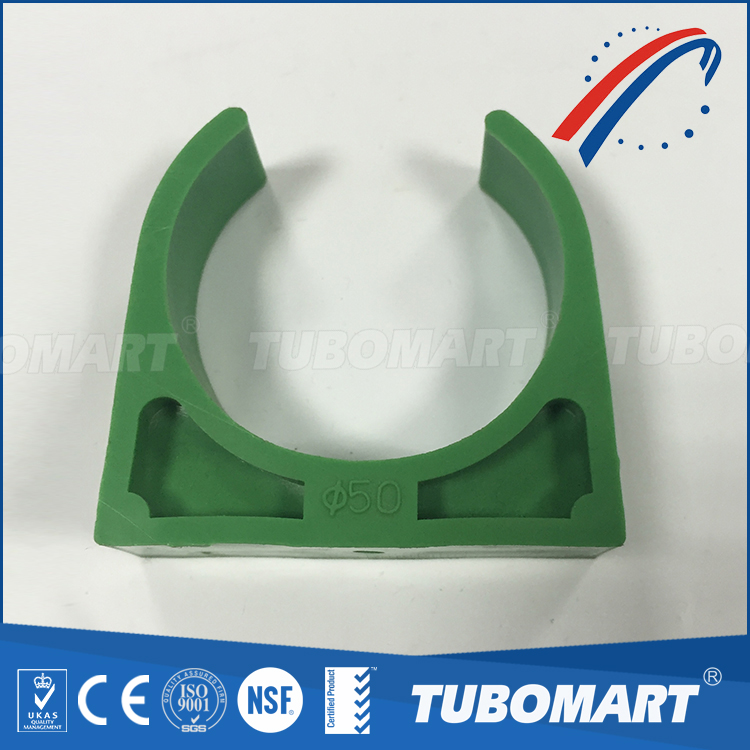 wholesaler short pipe clamp PPR pipe fittings plastic pipe clamp