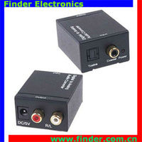 digital optical coaxial to analog rca audio optical rca converter