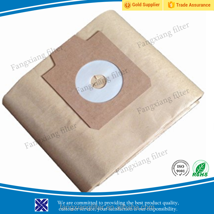 Since 2004, OEM, Rohs, ISO Home Appliancement replacement for Vacuum Cleaner Brown Paper Dust Bag