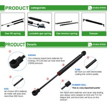 Air compressed gas lift supports for cupboard door latches
