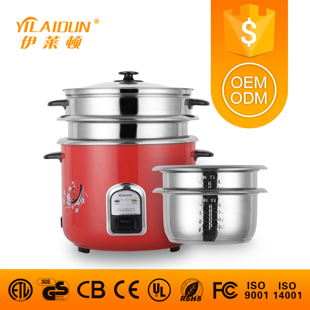 OEM service stainless steel inner pot straight electric rice cooker