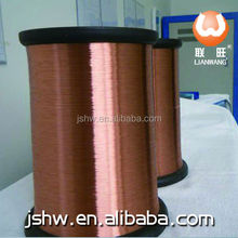 polyester UEW EIW EI/AIW 0.12 mm enamelled copper wire jiangsu huwang