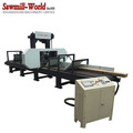 High Efficiency Multiple Heads Horizontal Band Sawmill