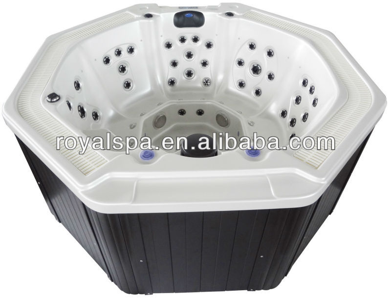 round acrylic Hot Tub with CE SAA ROHS approved