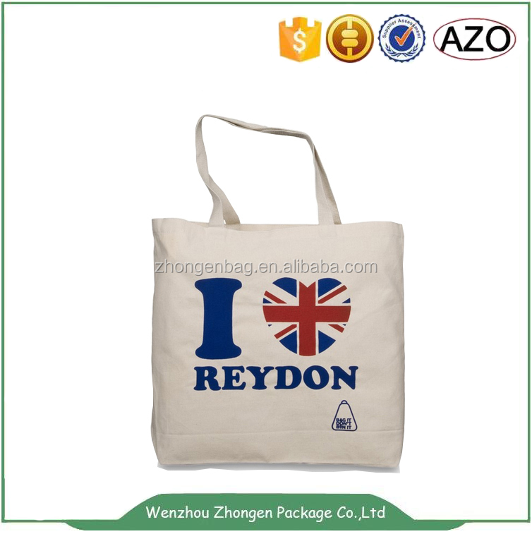 Customized wholesale promotion cotton recycle bag