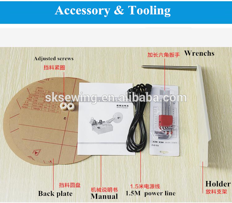 Automatic computer Strip webbing hot balde cutter fabric Cutting Machine