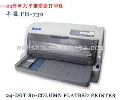 Flatbed printer FH-730 24- Dot 80- Column document stylus printer