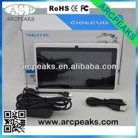 7 inch allwinner a13 high quality low cost tablet pc