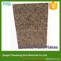 decorative paint flakes granite stone raw material coating for exterior