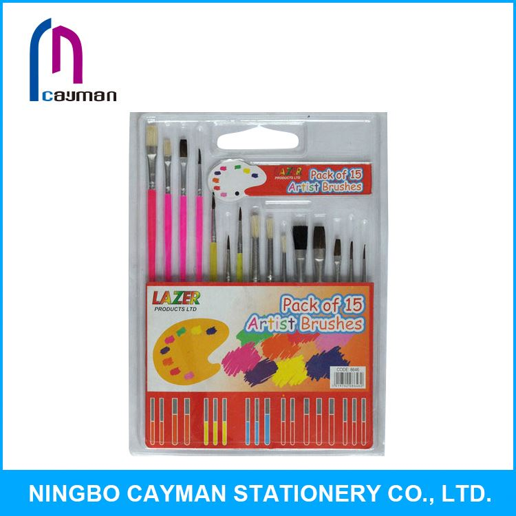 Hot sale new design paint brush pencils