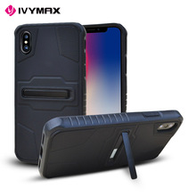 Ivymax cell phone accesories with kickstand x for iphone case x,for iphone x case