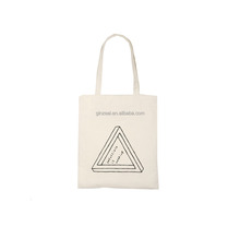 Fashion Style Organic Cotton Bag Recyclable Shopping Canvas Bag