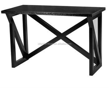 Modern black hotel console table XYN1014