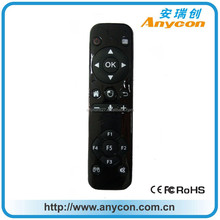 Bluetooth 4.0 BLE air mouse remote control with audio function with lithium battery
