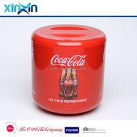 double wall plastic ice bucket with lid wine cooler barware