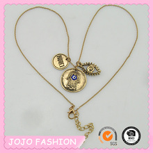 High Popular Fashion Handcrafted Evil Eye Pendant Necklace For Sale