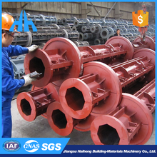 Low price forging concrete pile steel mold