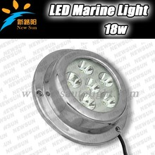 Newsun Hot Selling IP68 18W 12V Underwater Pool Light For Houseboat/Yacht