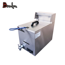 countertop french fries propane gas fryer machine