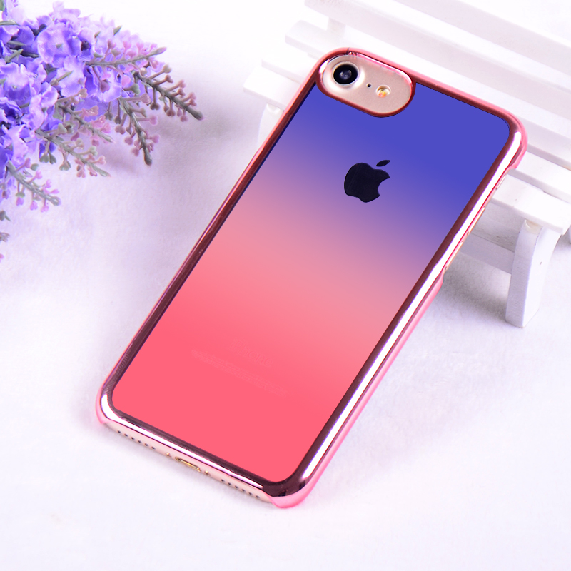 OEM Newest Graditional Color Mobile Phone Cover for iPhone7 Customized Case