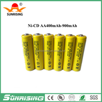 sunrising 1.2v 150mah ni-cd battery aa/1.2v ni cd rechargeable battery aa battery button top