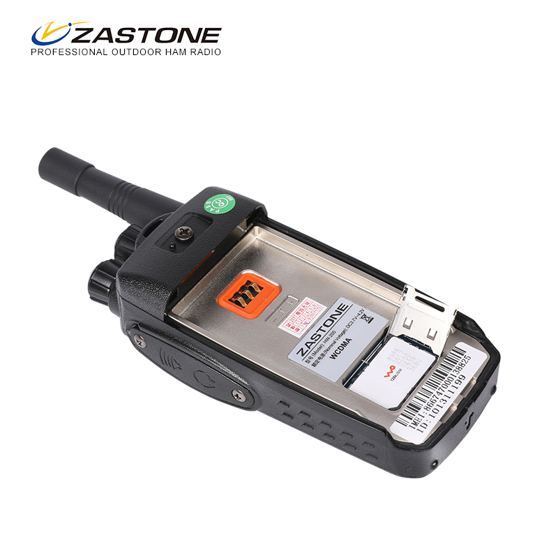 gsm walkie talkie WCDMA Radio with sim card
