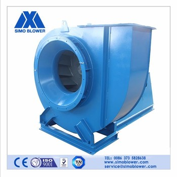 Carbon steel bricks kiln dust collecting axial vane fan