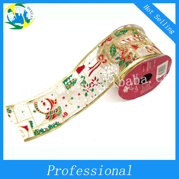 Wholesale Cheapest Ribbon Christmas,Mesh Ribbon
