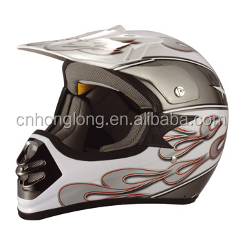 personlized cross helmet with comfortable liner---ECE/DOT Approved