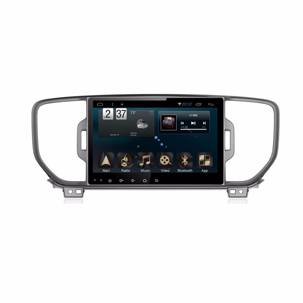 For KIAs SportageR 2015 - 9 inch Full HD Touch Screen Android 6.0 Special Car Multimedia Player