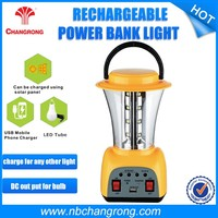 Changrong Solar Rechargeable Powerful Led Camping Lanterns