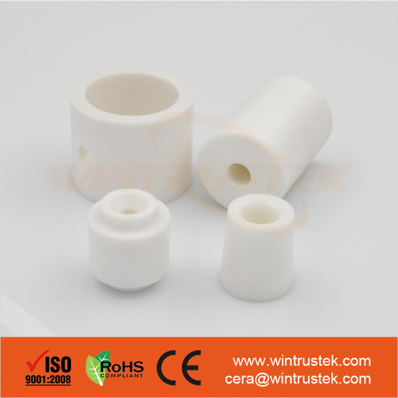 High Precision Advanced Ceramics / Zirconia Ceramic Bushing Insulator