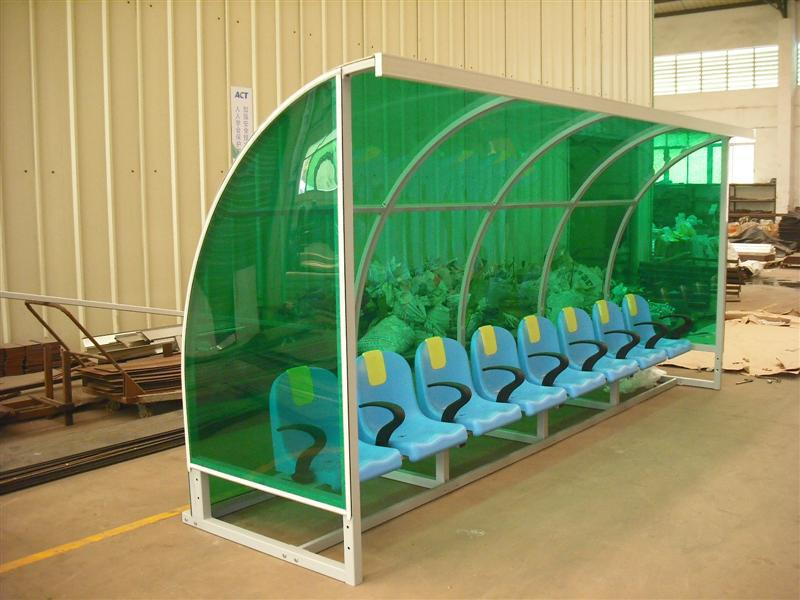 Football Team Shelter / Dugout - Economy