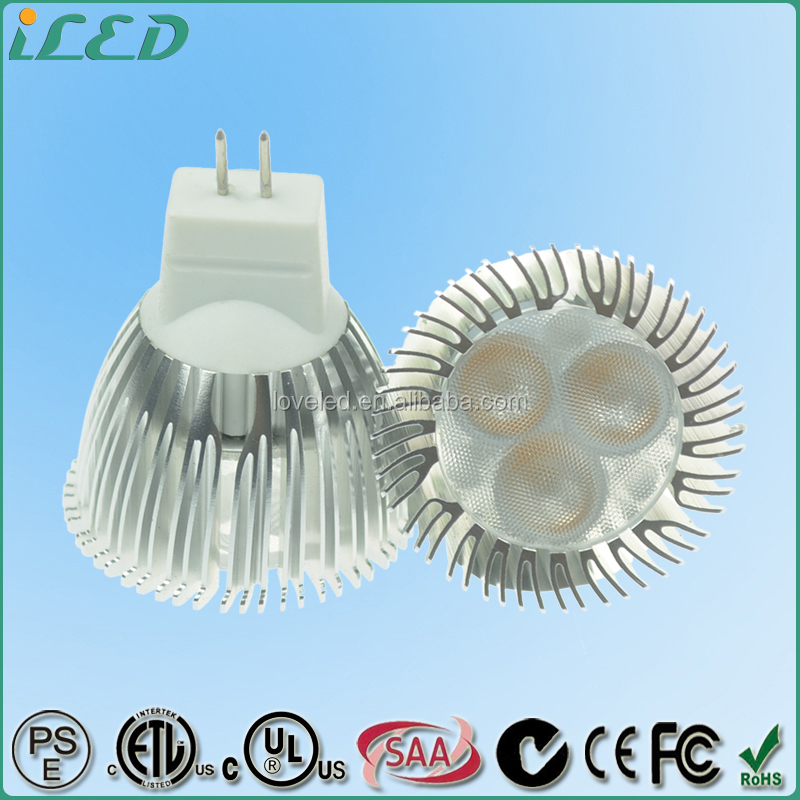 35mm Dimmable 3W GU4 LED Spot 12V DC/AC MR11 LED Bulbs Warm White 2700K