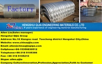 half round corrugated steel culvert pipe semicircle corrugated metal pipe for building material