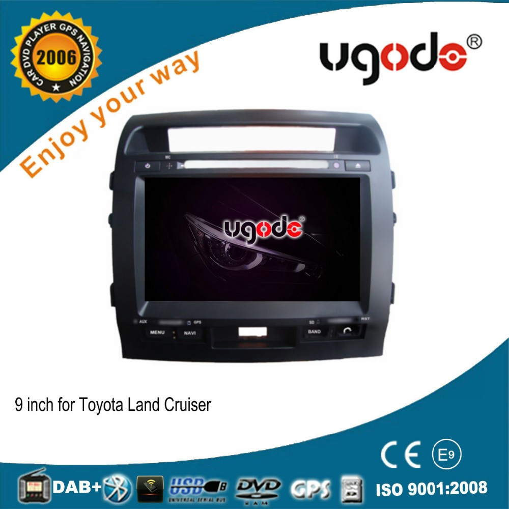For Toyota Land cruiser 2007-2013 Android 4.4.4 double din car dvd player